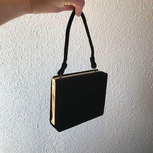 Vintage Velvet Box Evening Bag by Tina